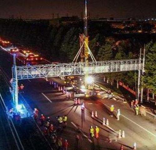 高速龙门路跨安装运输注意事项有哪些?