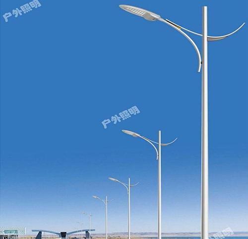 高杆灯所采取的灯杆是什么样的?